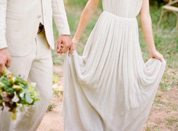 minimalistyczna suknie ślubna