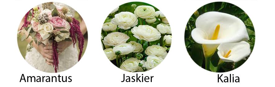wesele październik kwiaty