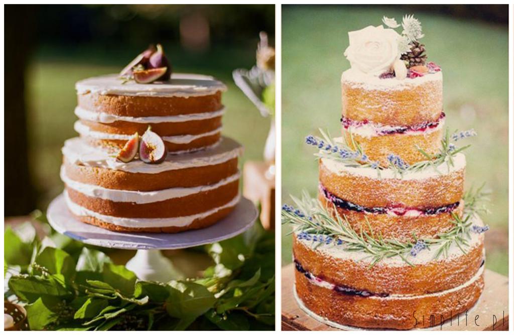 minimalistyczny-tort-ślubny