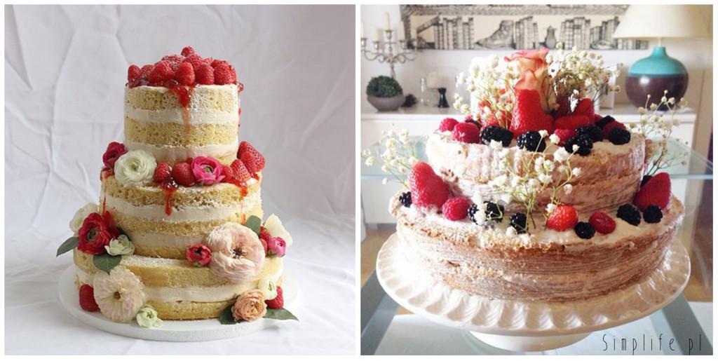 tort-ślubny-z-kwiatami-i-owocami