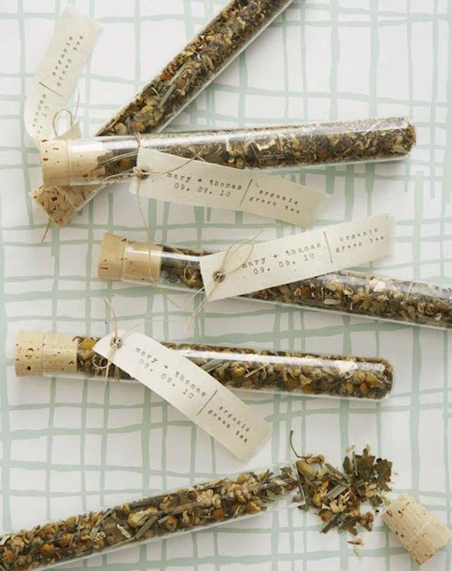 prezenty dla gości weselnych herbata