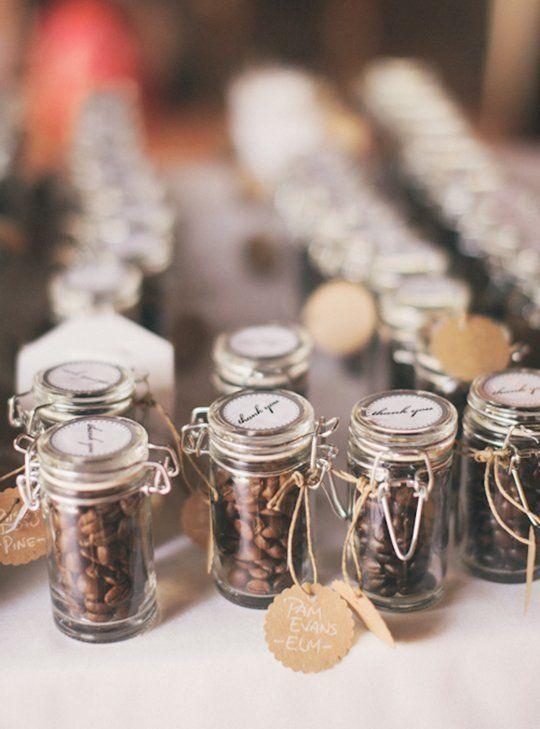 prezenty dla gości weselnych kawa słoik