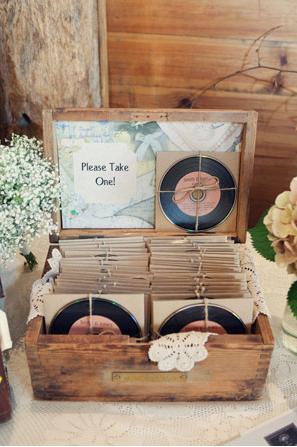 upominki dla gosci weselnych płyty