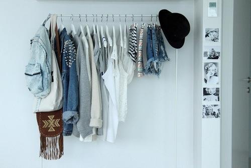 ubrania porządki