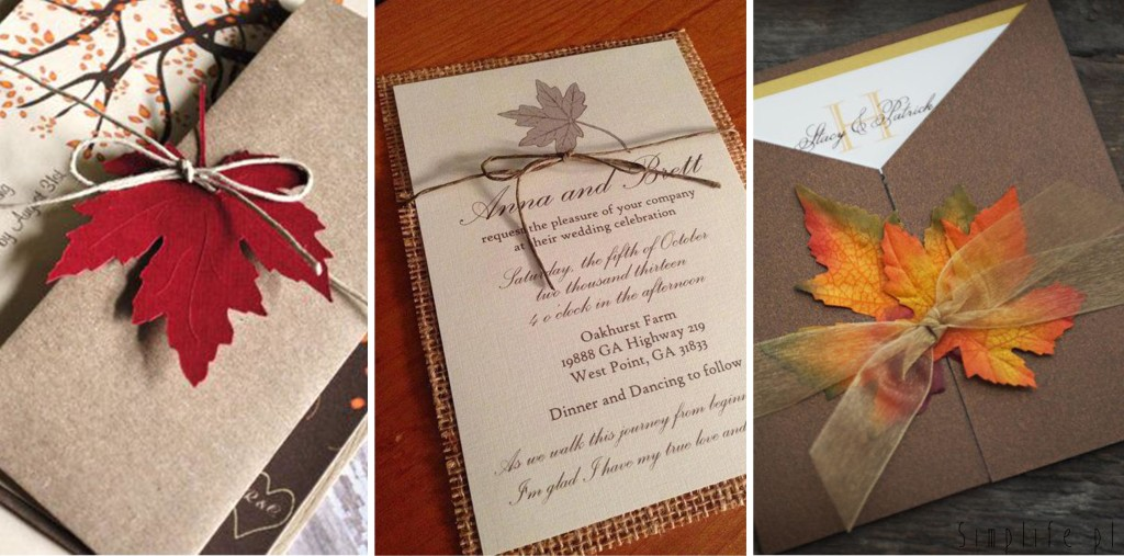 zaproszenia-ślubne-jesień