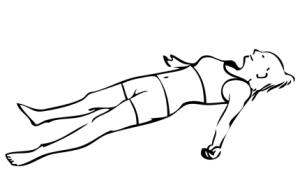 joga savasana