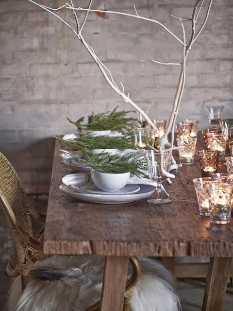 gałązki na stół wigilijny