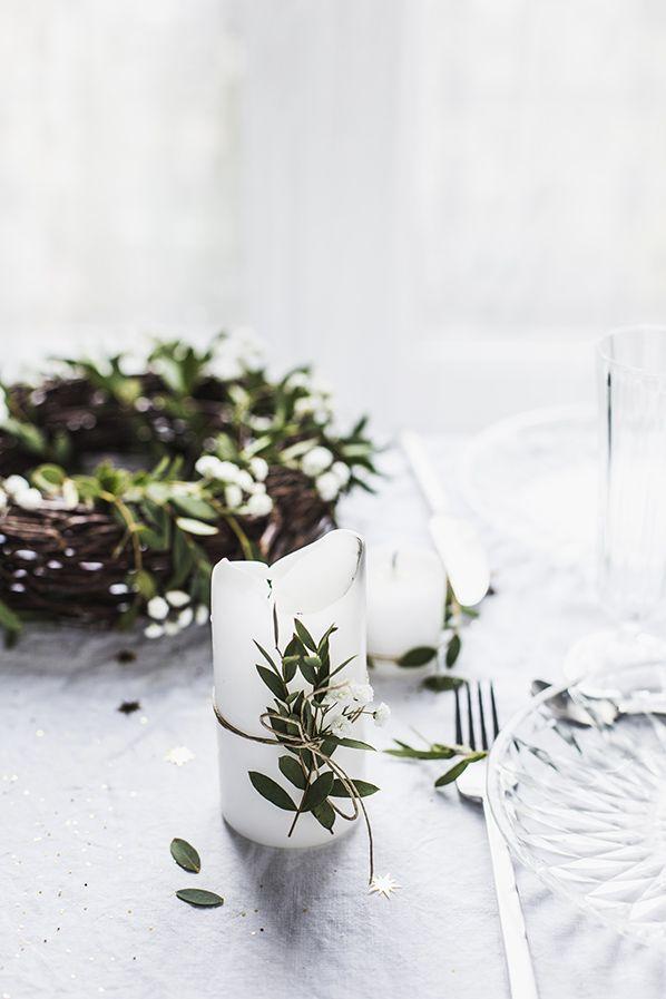 stół wigilijny minimalistyczny