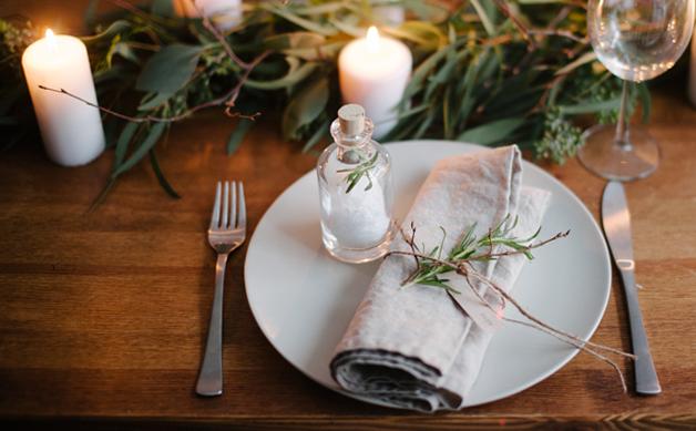 stół wigilijny serwetki
