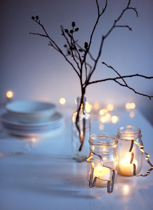 stół wigilijny słoiczki