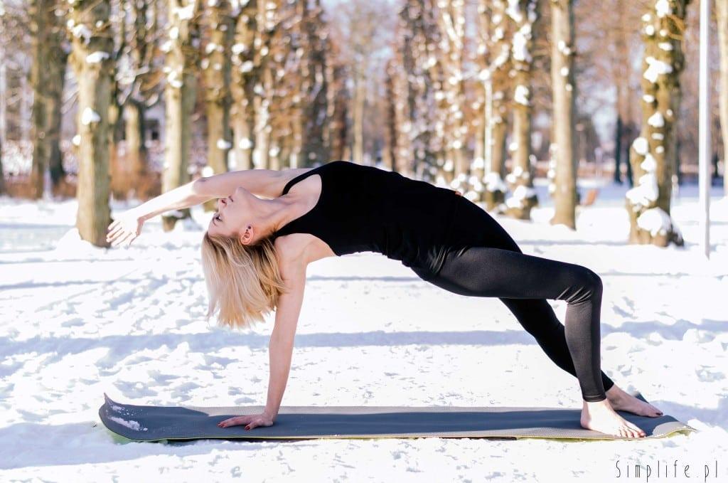 joga zimą