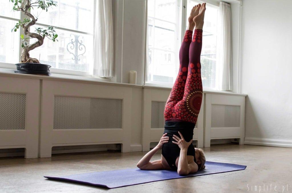 świeca joga