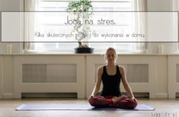 joga na stres