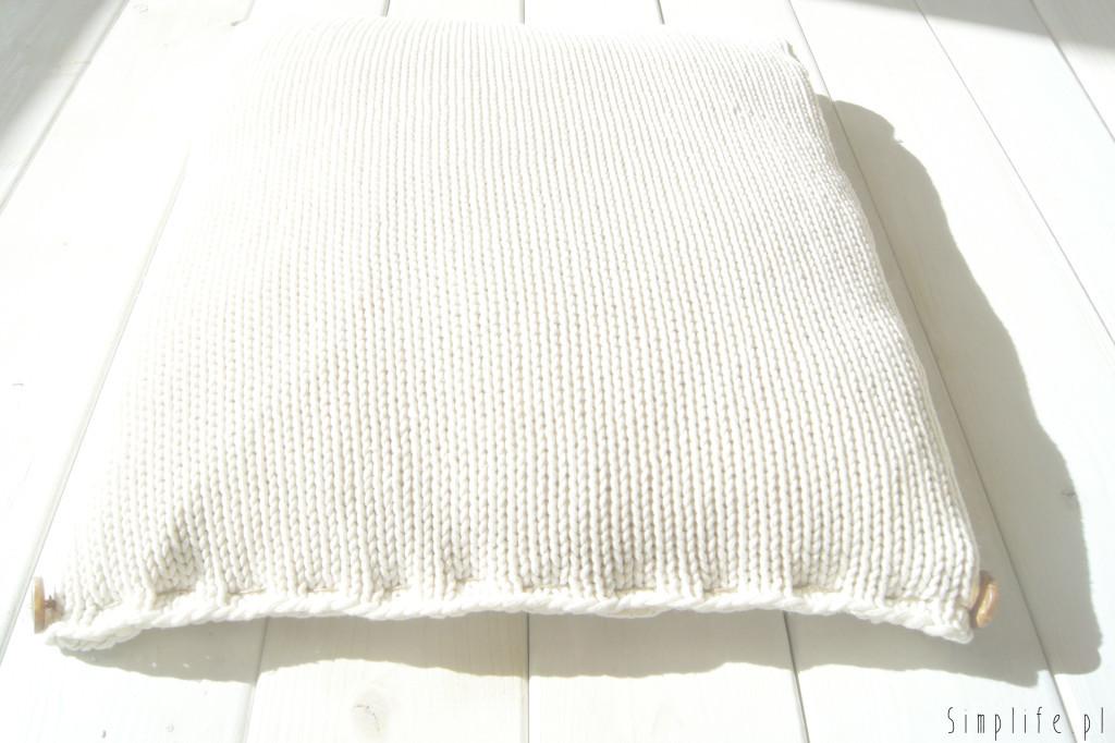 poszewka na poduszkę DIY