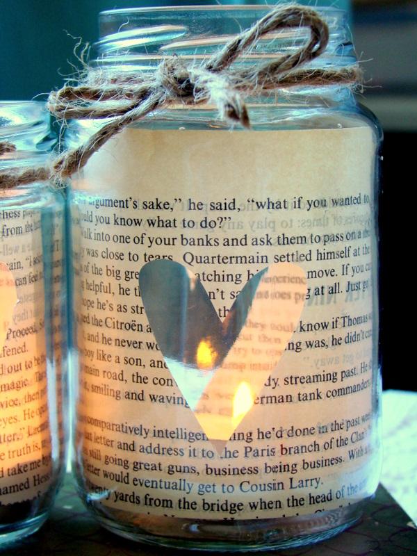 świeczka walentynki
