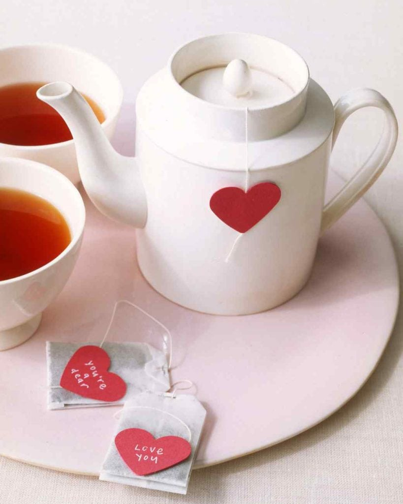 walentynki herbata