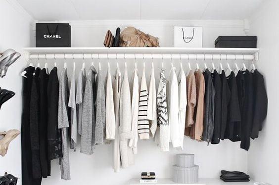 minimalistyczna garderoba