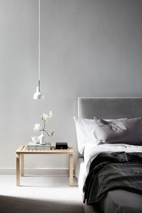minimalistyczna sypialnie
