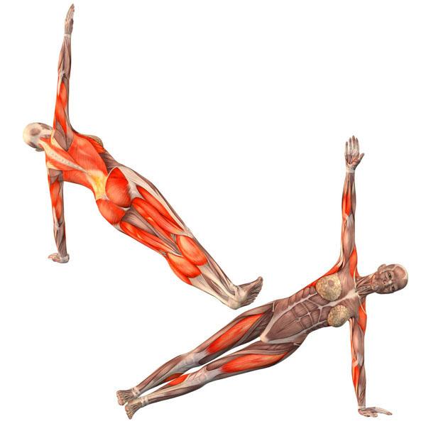 joga mięśnie brzucha asana