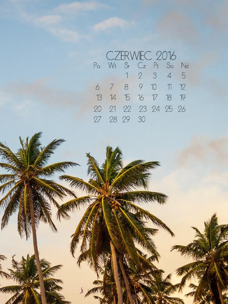 tapeta na komórkę z kalendarzem