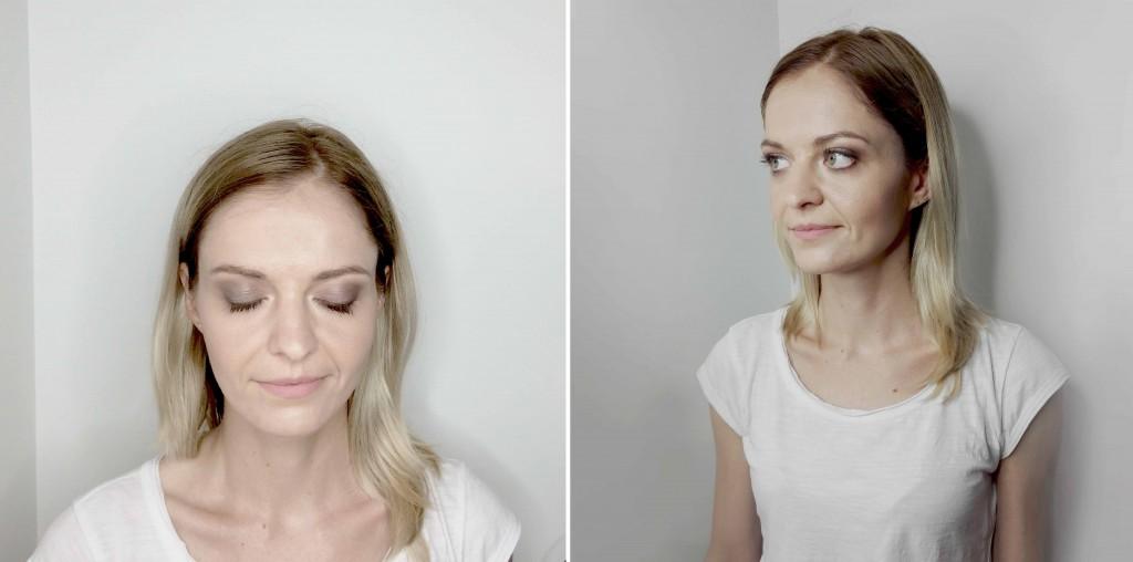 minimalistyczny makijaż