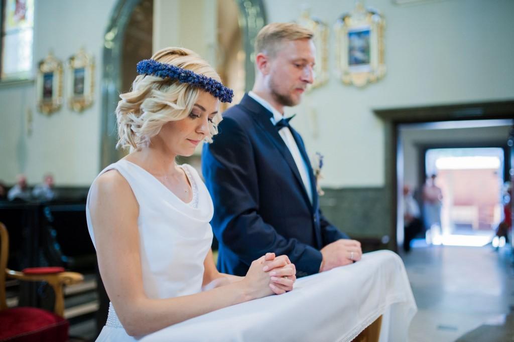 minimalistyczny makijaż ślubny