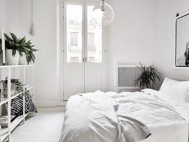 sypialnia oświetlenie