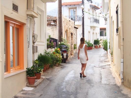 Kreta w październiku.