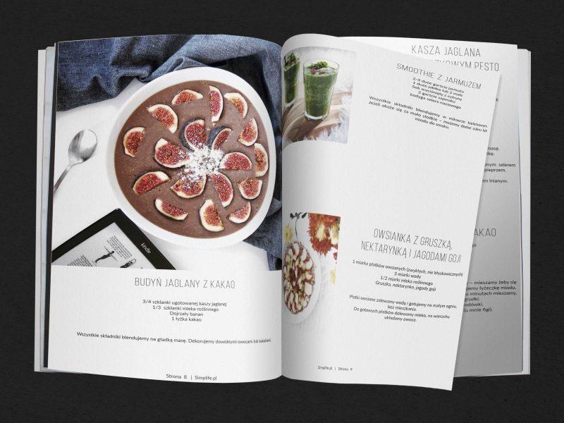Wegańskie przepisy – książka kucharska do pobrania.