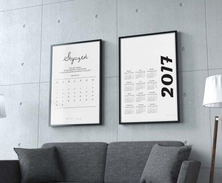 Kalendarz 2017 do pobrania za darmo.