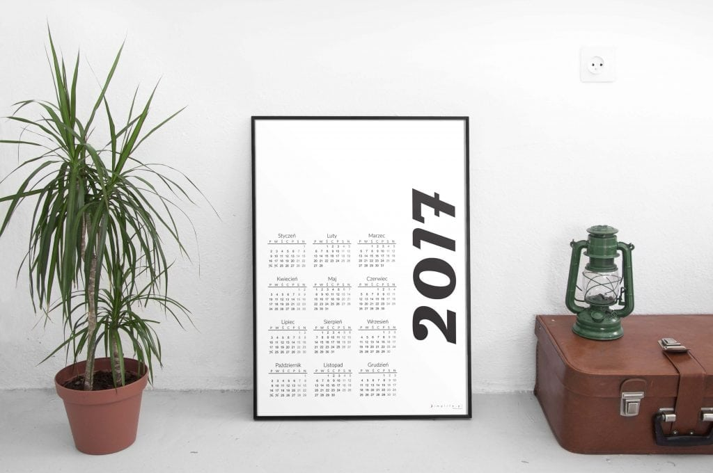 kalendarz 2017 do pobrania za darmo