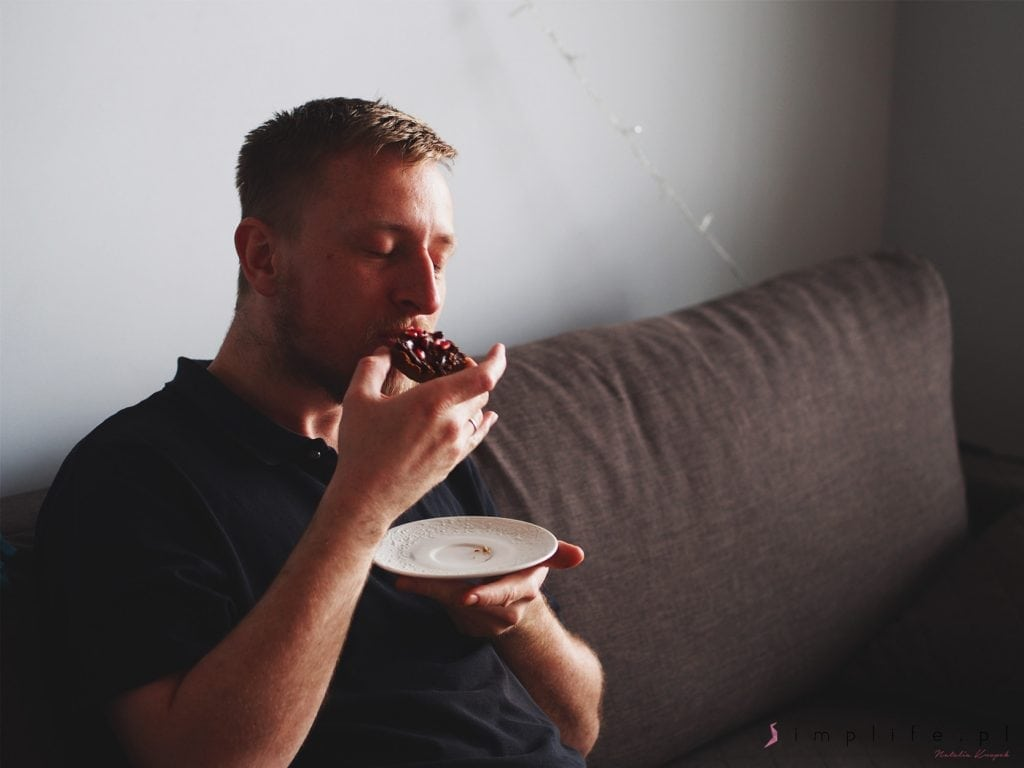 wegańska tarta