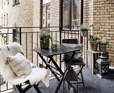 Pomysły na balkon w stylu urban jungle.
