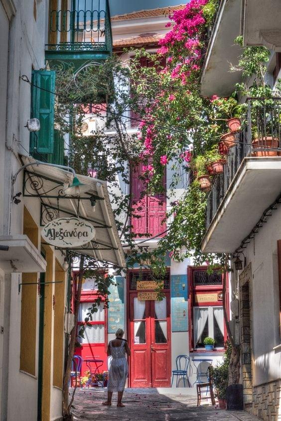 grecja balkon