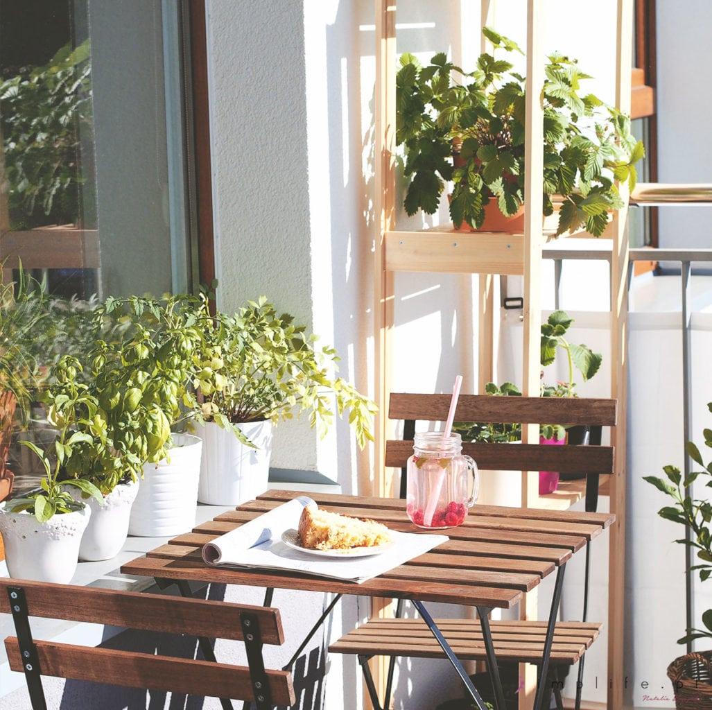 Ikea stolik na balkon