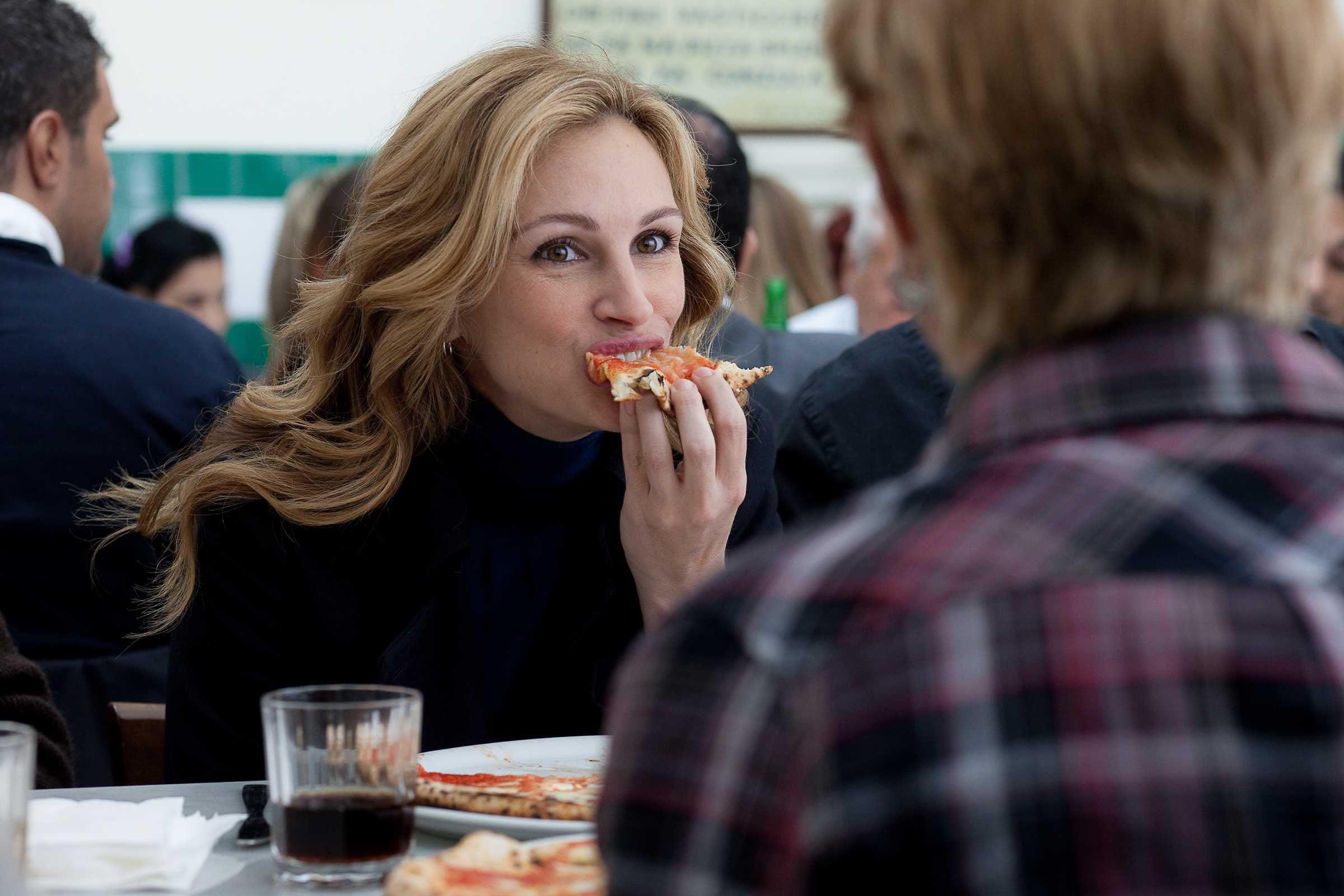 jedz módl się i kochaj pizza