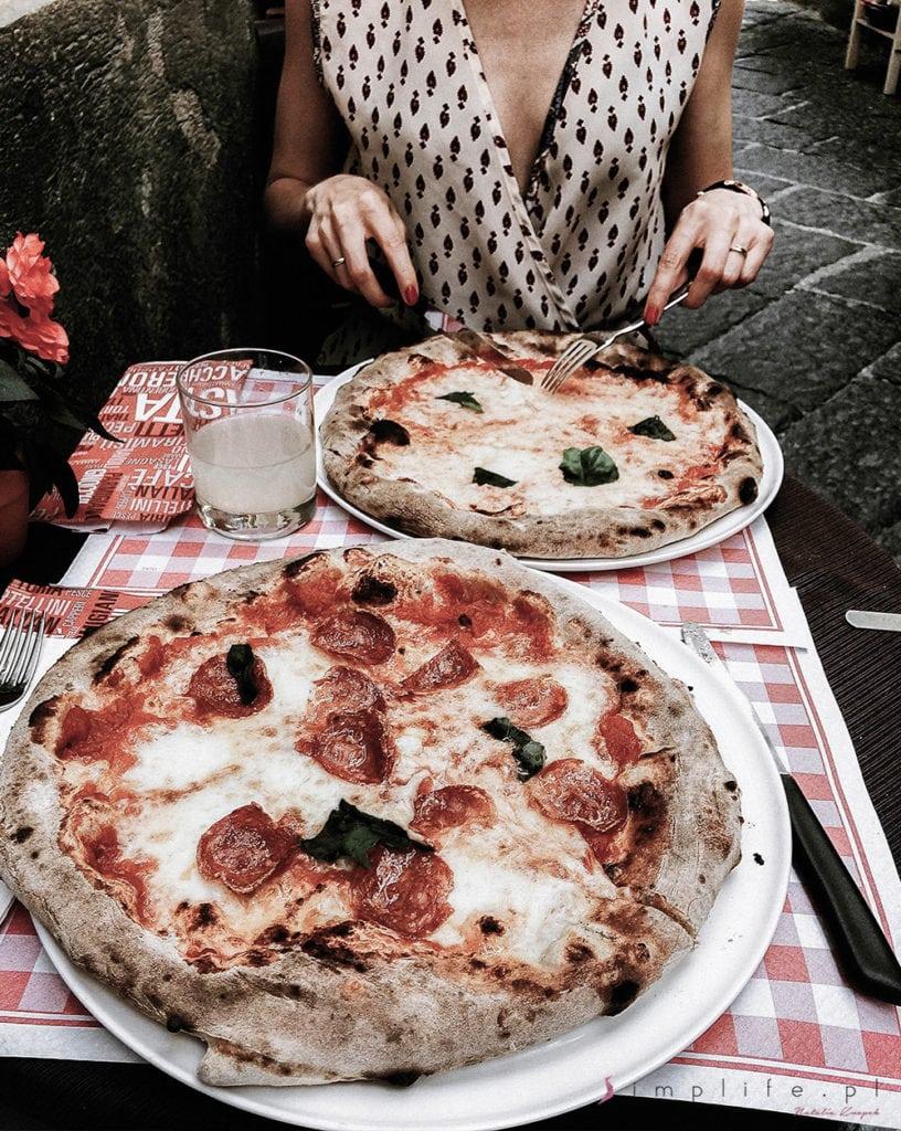 Neapol pizza włoska