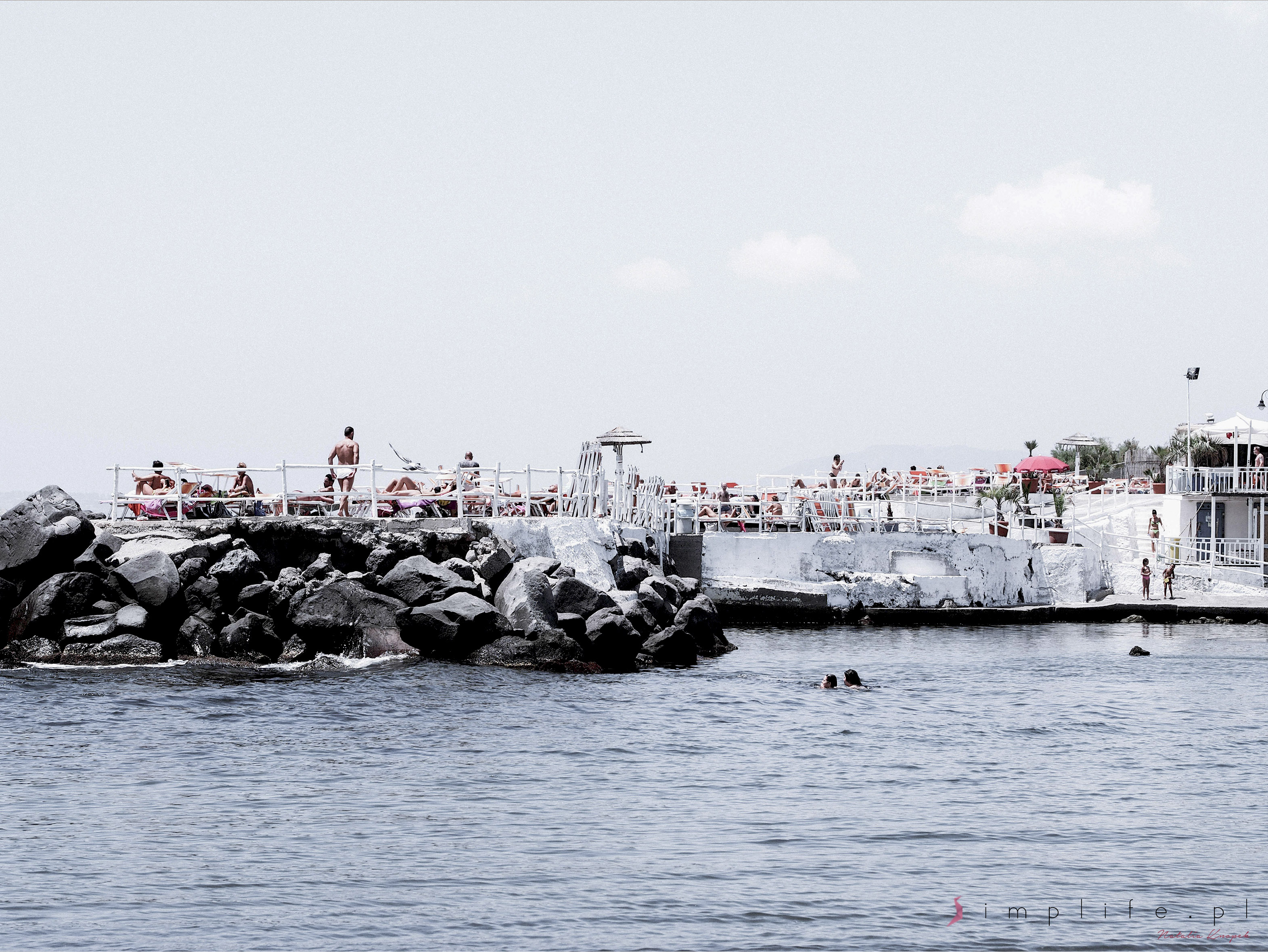 sorrento-plaża