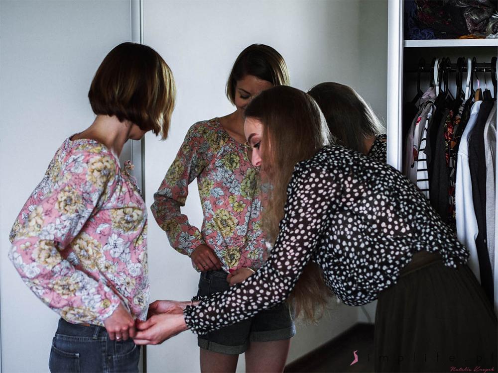 stylistka przegląd szafy