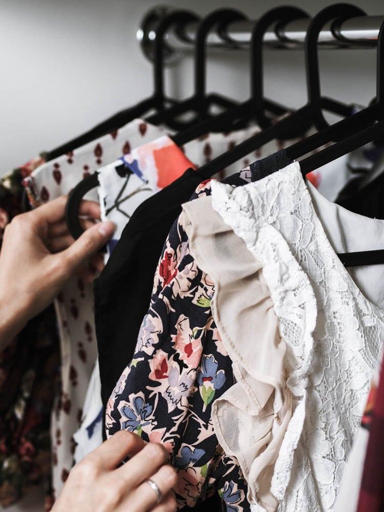 sukienki w mojej szafie