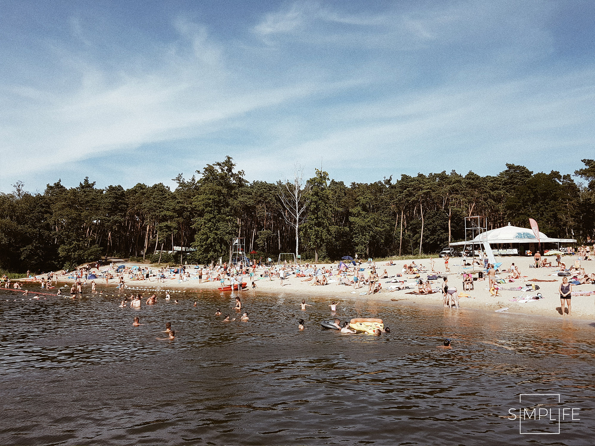 plaża osir ślesin