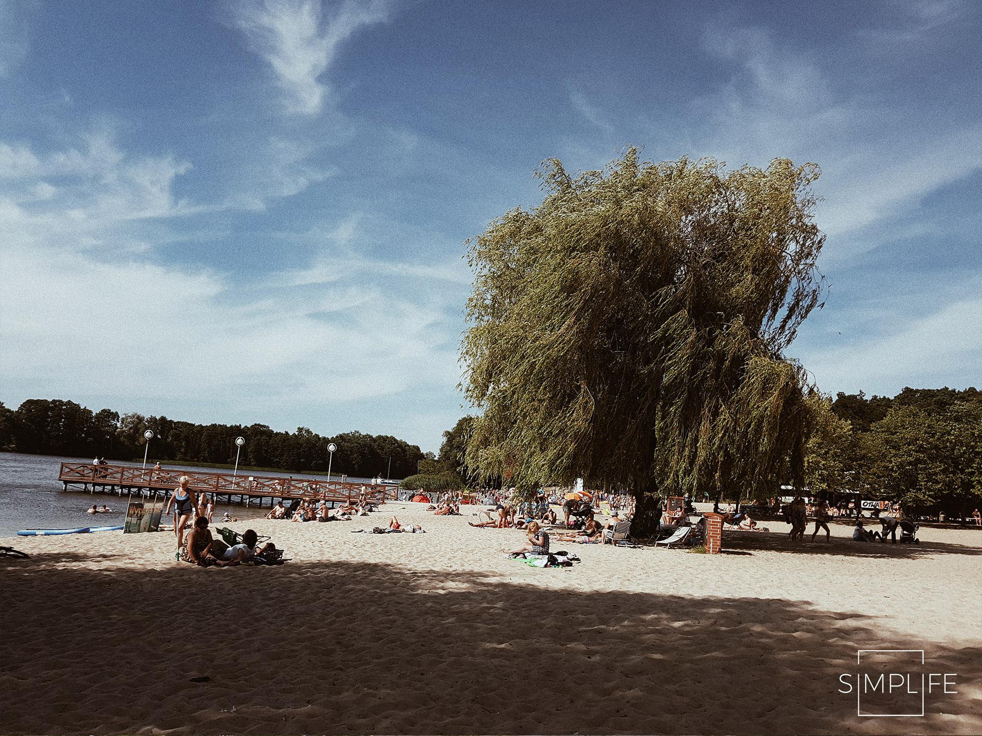 plaża w ślesinie