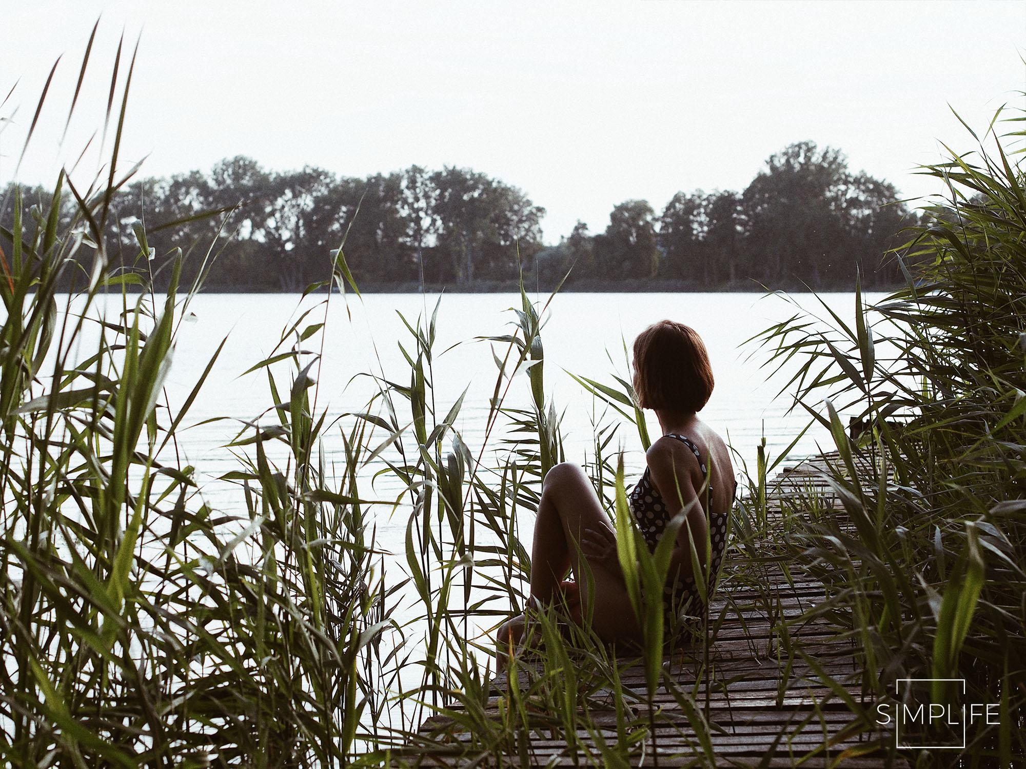 ślesin jezioro