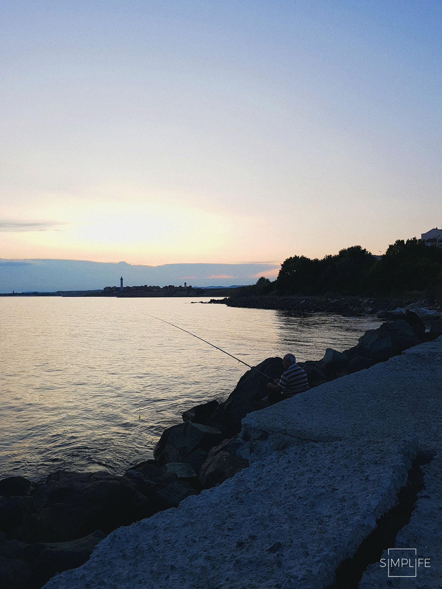 Bułgaria zachód słońca