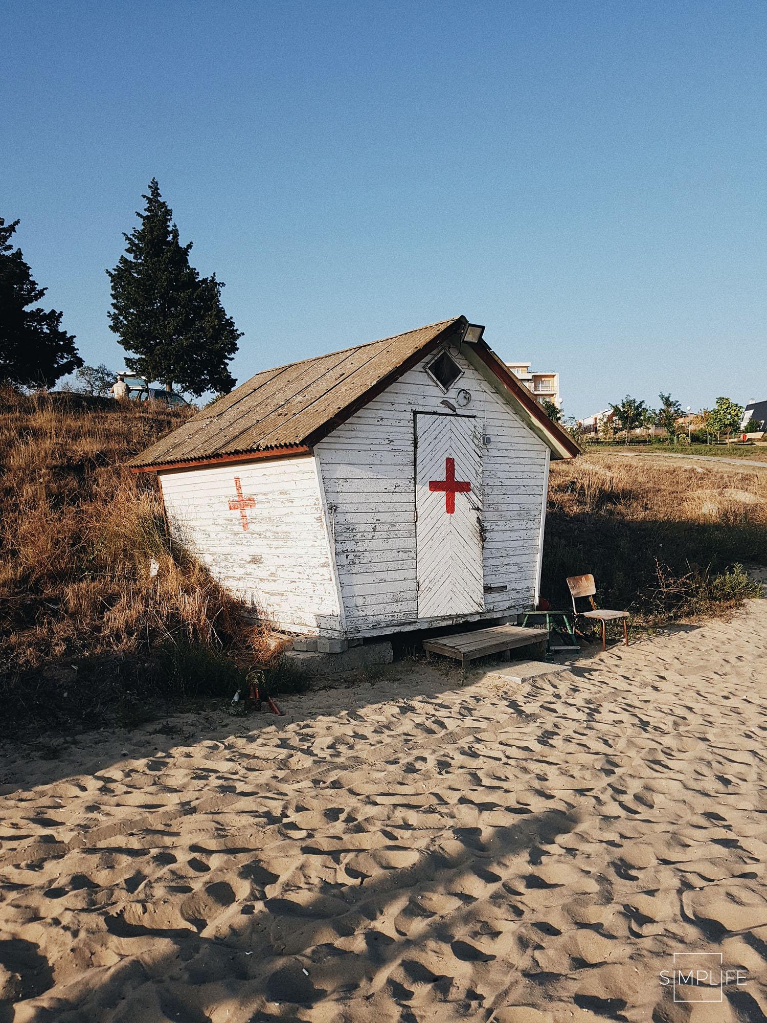 plaża bułgaria we wrześniu