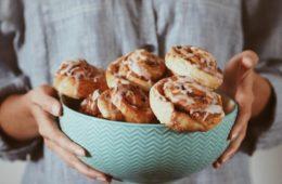 cinnamon rolls wegańskie