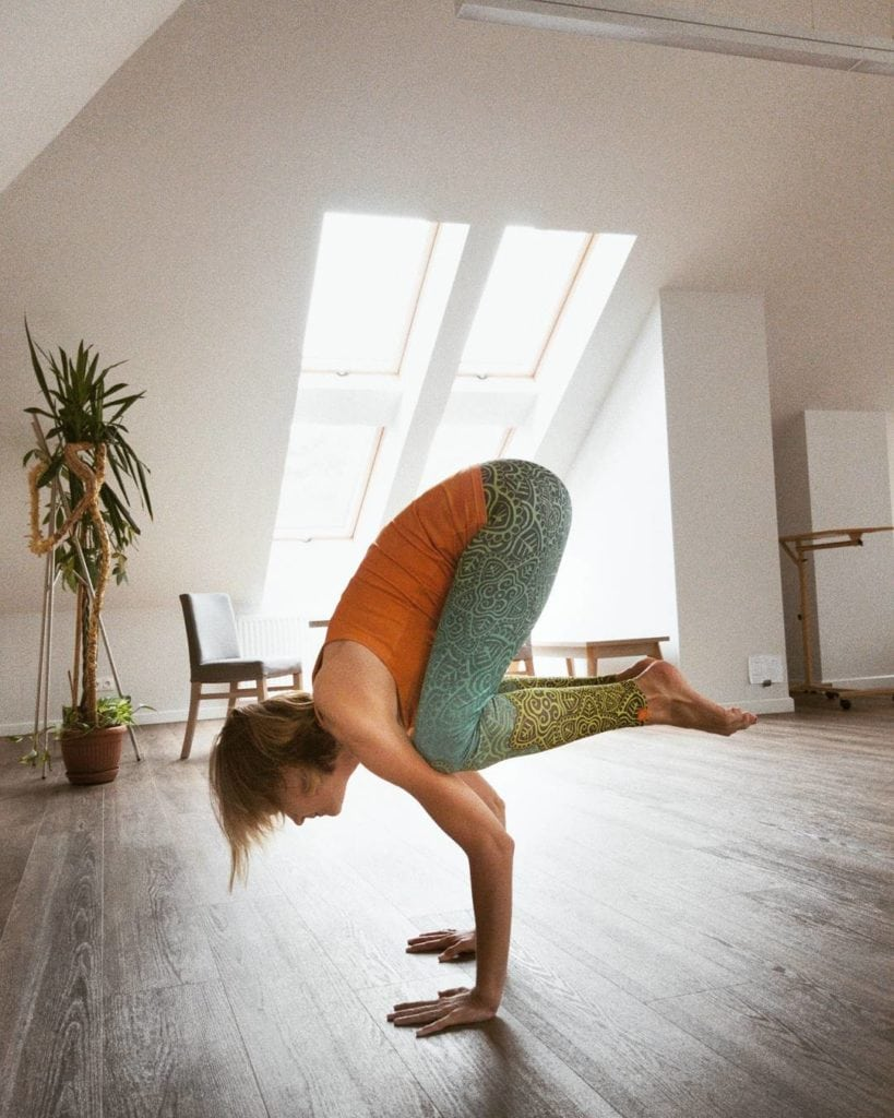joga pozycja kruka