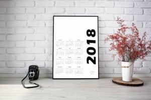 kalendarz 2018 druk