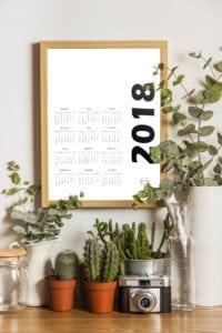 kalendarz 2018 druk a4