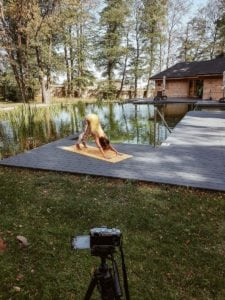 joga w domu instrukcja
